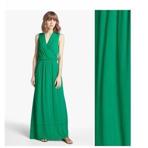 Stunning green Grecian style Ella Moss maxi dress